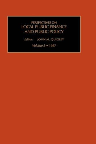 Download Perspectives on Local Public Finance and Public Policy
