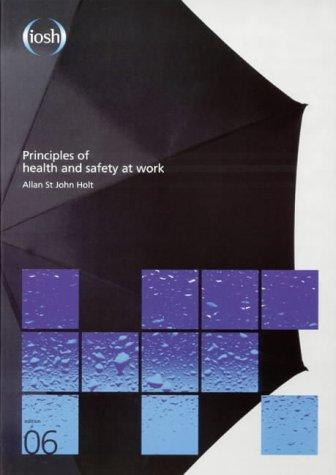 Download Principles of Health and Safety at Work