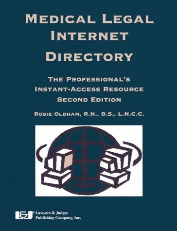 Download Medical Legal Internet Directory