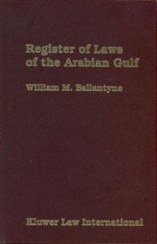 Register of Laws of the Arabian Gulf 2004