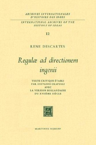 Download Regulae ad directionem ingenii