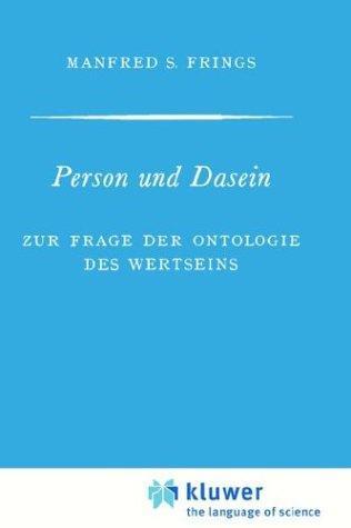 Download Person und Dasein