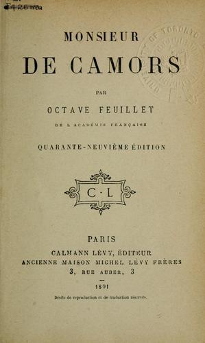 Monsieur de Camors.