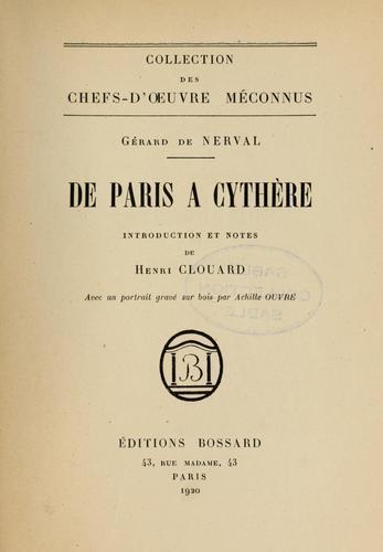 Download De Paris à Cythère