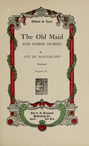 Download The old maid, and other stories.