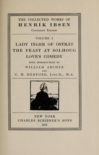 Lady Inger of Östråt by Henrik Ibsen