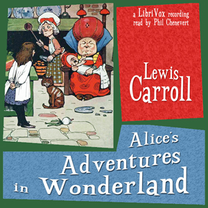 Alice's Adventures in Wonderland (abridged- version 3)(8047) by Lewis Carroll audiobook cover art image on Bookamo