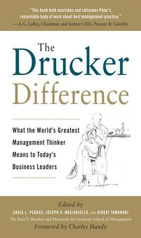 The Drucker difference by Craig L. Pearce