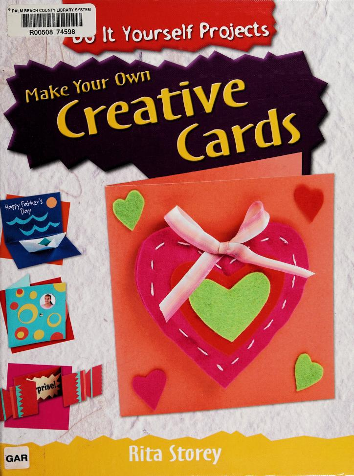 Make your own creative cards by Rita Storey
