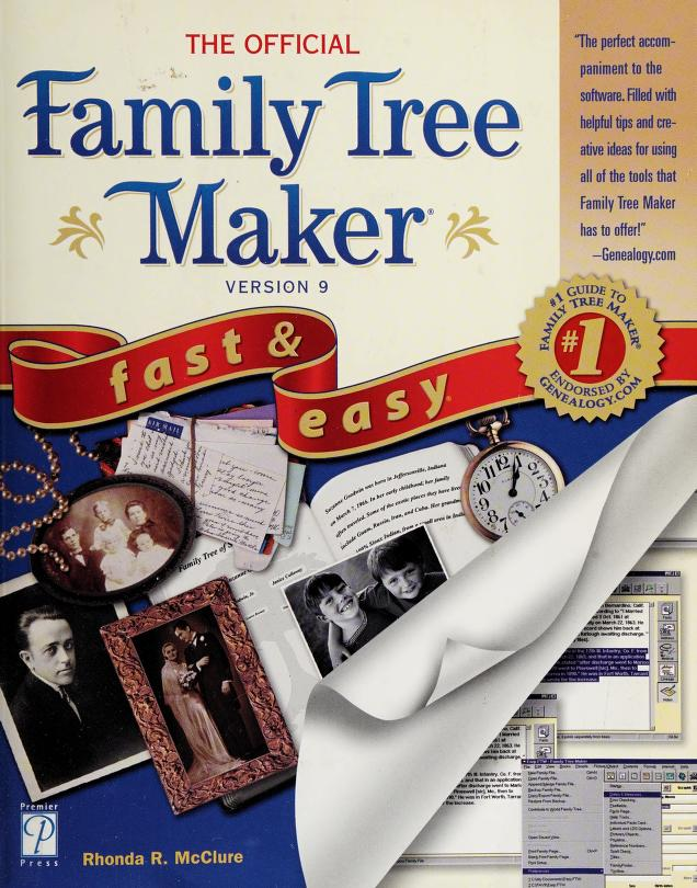 The official Family tree maker 9 by Rhonda R. McClure
