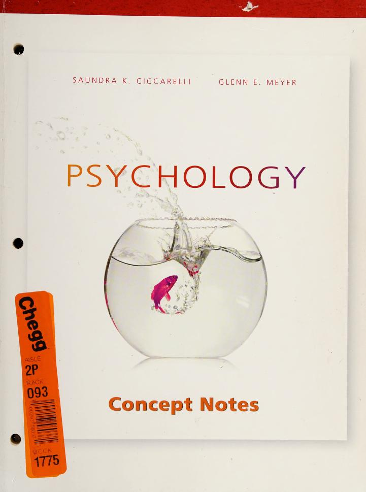Supplement: Psychology by Pearson