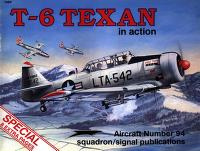 T-6 Texan in action by Davis, Larry