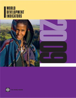World Development Indicators 2009 by World Bank