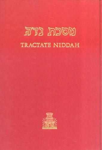 Tractate Niddah (Hebrew-English Edition of the Babylonian Talmud) (Hebrew-English Edition of the Babylonian Talmud) by Isidore Epstein