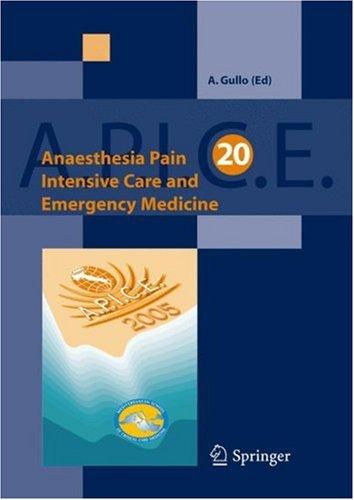 Anaesthesia, Pain, Intensive Care and Emergency Medicine – A.P.I.C.E.