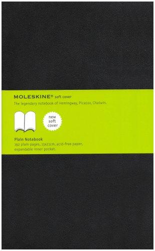 Moleskine Plain Notebook Soft Cover Large by Moleskine