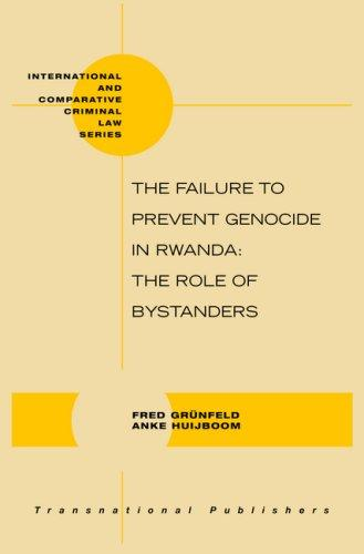 The failure to prevent genocide in Rwanda by