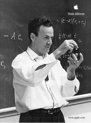 Photo of Richard Phillips Feynman