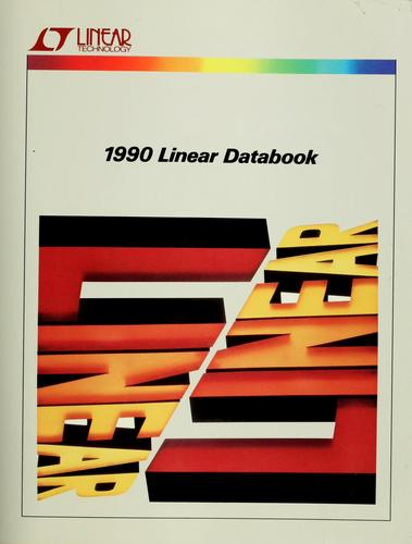 1990 linear detabook by Linear Technology Corporation.