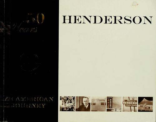 50 years Henderson by
