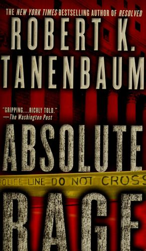 Absolute rage by Robert Tanenbaum