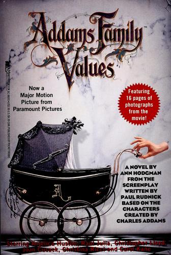 Addams family values by Ann Hodgman